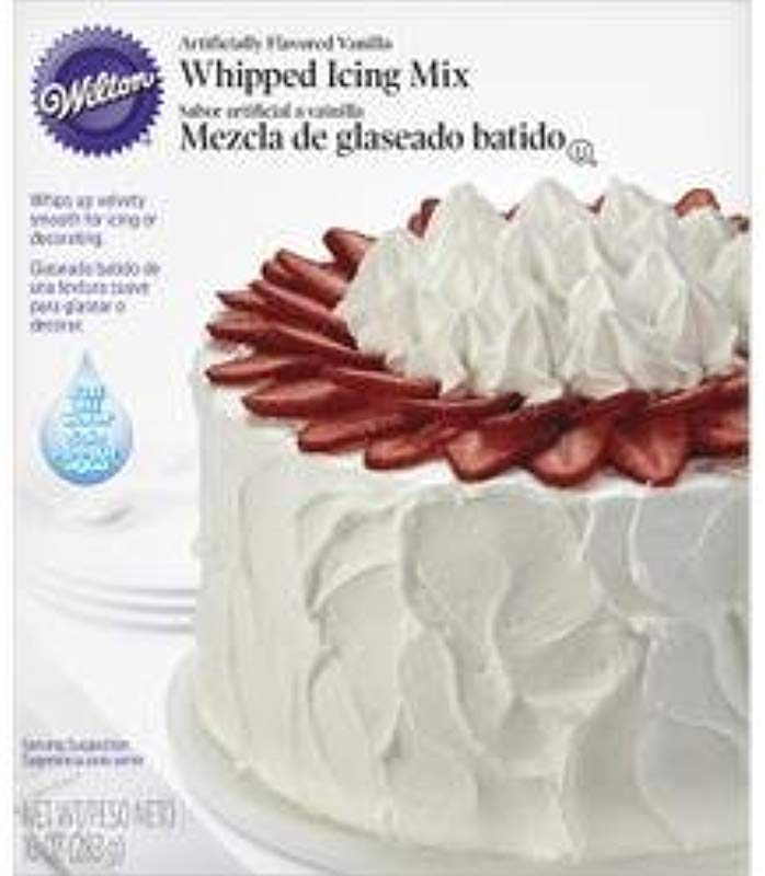 Wilton Bulk Buy Whipped Vanilla Icing Mix 10 Ounces W1241 3 Pack