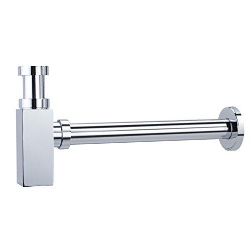 Modernes Ablaufventil für Badezimmer-Waschbecken von Hapilife, mit Chromlackierung, 18F