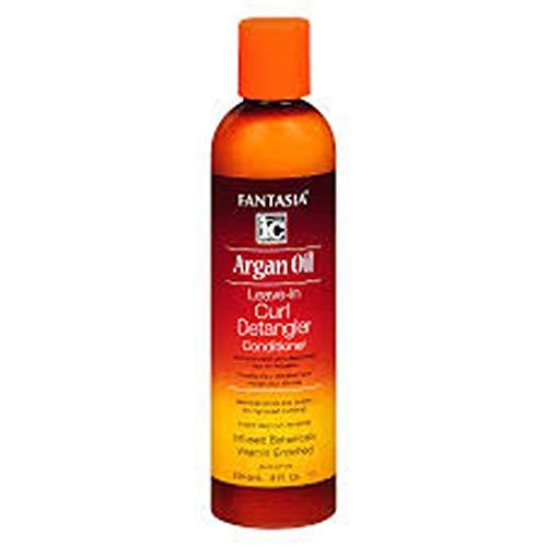 Fantasia Argan Oil Leave-In Curl Detangler 8oz by Fantasia