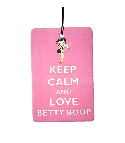 Ambientador De Coche Keep Calm and Love Betty Boop