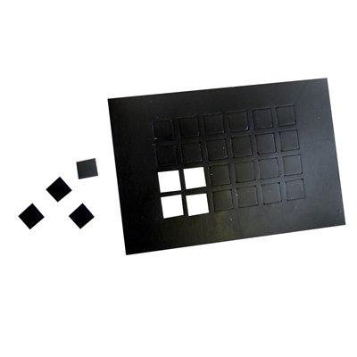 Dycem non-slip self-adhesive squares 1 sheet 24 each Arlington Mall 2