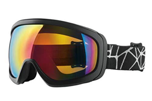 Crivit Ski- un Snowboardbrille mit 100% UV Schutz Schwarz I