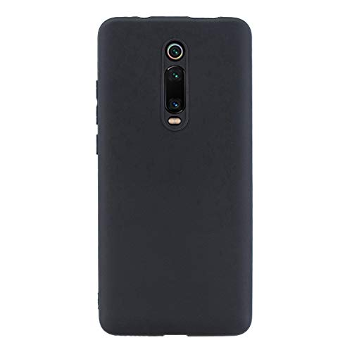 UBERANT Capa para Redmi K20 Pro, à prova de choque com orifício de alça de TPU macio, ultrafina, leve, flexível, capa protetora de borracha para Xiaomi Redmi K20 / K20 Pro/Mi 9T - preta