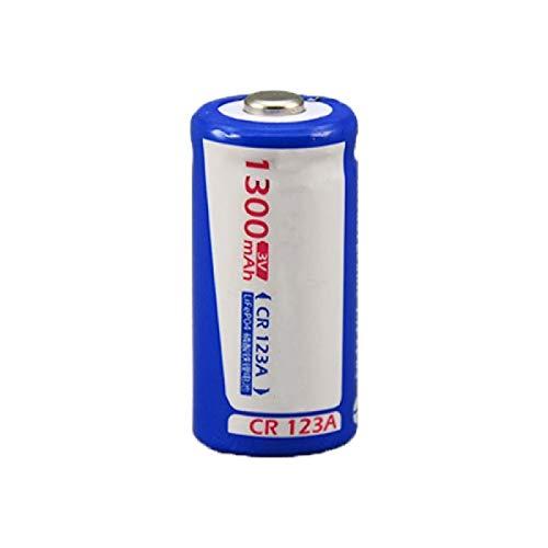RECORDARME 1pcs 3v 16340 Cr123a 1300mah Batería De Litio Recargable, para Linternas De CáMara Banco De Energía Faros Dispositivos ElectróNicos