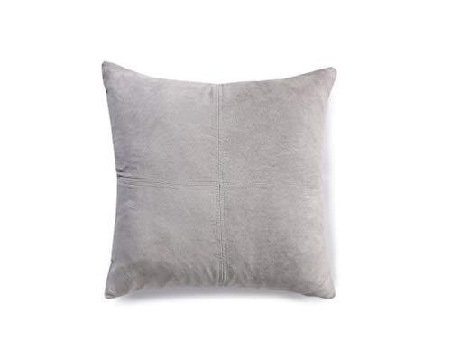 PimpamTex Coussins modèle Ante Garnis | Coussin décoratif pour canapé, Salon ou Chambre à Coucher | 45X45 cm | 2 unités Inclus (Gris Perla)