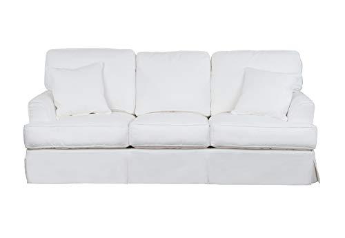 Sunset Trading Ariana Sofa, White