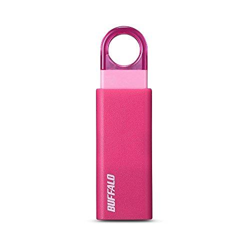 BUFFALO ノックスライド USB3.1(Gen1) USBメモリー 8GB ブルー RUF3-KS8GA-BL