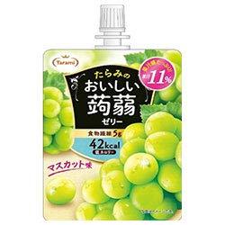 たらみ おいしい蒟蒻ゼリー マスカット味 150gパウチ×30(6×5)本入×(2ケース)