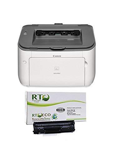 Renewable Toner LBP6230dw Check Printer Bundle with Compatible 126 CRG-126 3483B001 MICR Toner