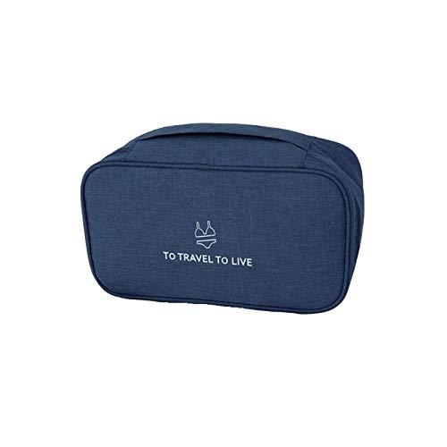 Caja de almacenamiento de ropa interior, bolsa de viaje bolsa de cosméticos multifuncionales organizadores de almacenamiento organizador de calcetines de almacenamiento A-7