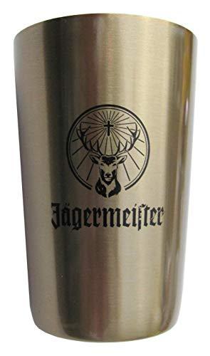 Jägermeister - Becher aus Edelstahl ca. 4cl. - 63 x 42 mm