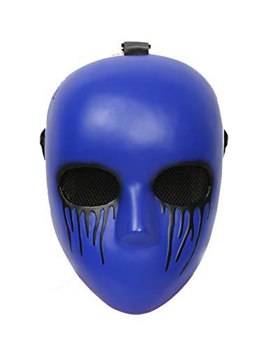 xcoser Eyeless Jack Maske Blau Deluxe Harz Erwachsene Cosplay Kostüm Halloween Zubehör