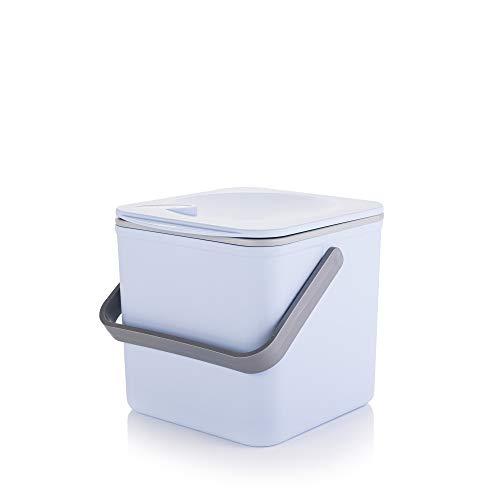 Minky Homecare Kompostbehälter, Pastellblau