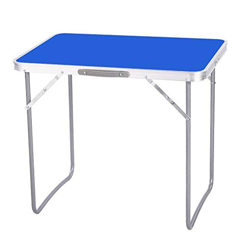 DENNY Portable Folding Picnic Table MDF For Indoor Outdoor Home Party, Camping & Hiking By Crystals