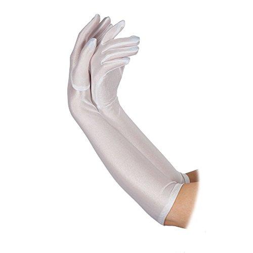 Ladies Long Gloves Fancy Dress Accessory