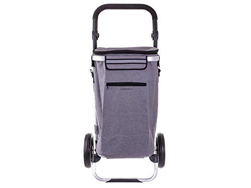 Franky Einkaufroller Einkaufstrolley mit separater Kühltasche Grey 2 Tone