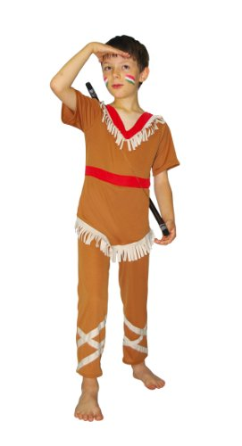 César - F081-003 - Costume - Déguisement Indien - 8/10 Ans