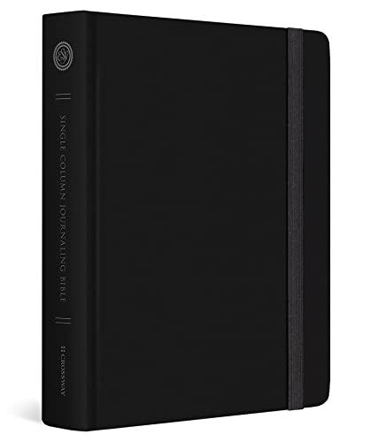 ESV Single Column Journaling Bible (Black) Hardcover – August