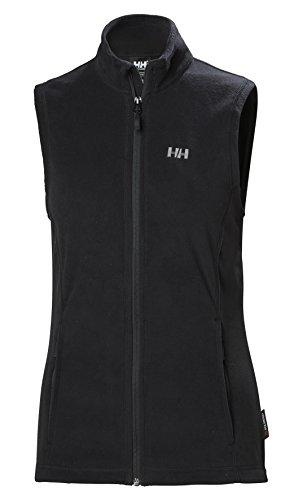 Helly Hansen Damen W Daybreaker Vest Fleece, 990 Black, L