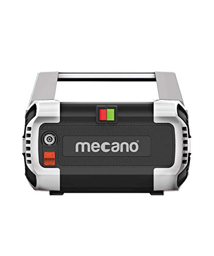 Mecano Hydrojet 1600 W Induction Motor 120bar 6.5L/min Flow High Pressure Washer for Cars/Bikes & Home Cleaning Purpose (Black & Grey)