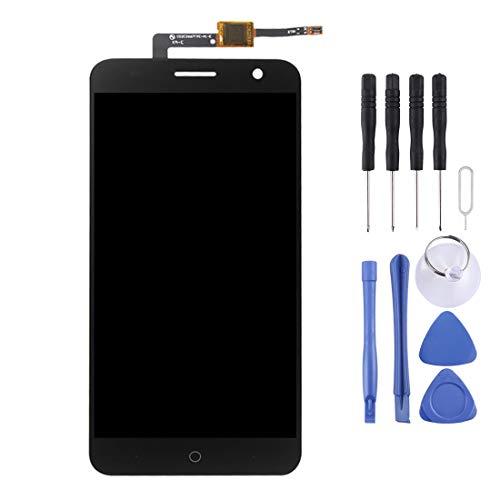 YANTAIAN Piezas de reparación de teléfonos celulares ZTE Blade V7 / BV0701 Pantalla LCD Pantalla táctil digitalizador Asamblea (Color : Black)
