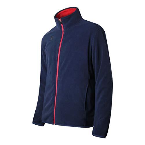 Mooto Jacke mit Reißverschluss Wolle Winter Trainingsjacke Marineblau für Herren 150cm (4.92ft) Marine