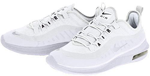 Nike Damen Air Max Axis Laufschuhe, Weiß (White/White/Black 100), 42 EU