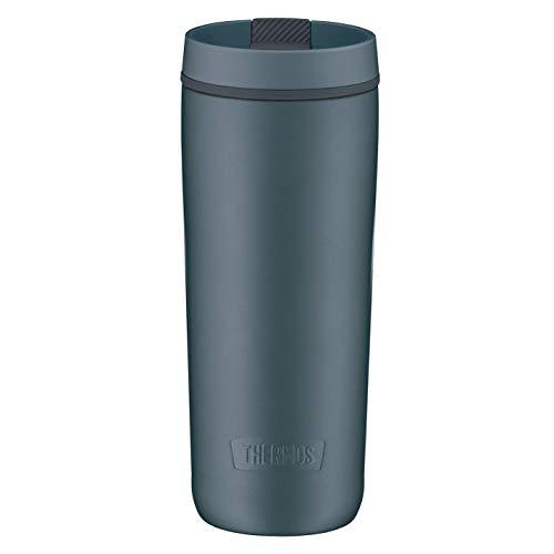 Thermos Guardian Line Isolier-Trinkbecher 500 ml Lake Blue | Doppelwandiger Edelstahl, einfaches Handling, perfekte Größe | Absolut dicht und auslaufsicher [18/8 Edelstahl, Polypropylen, Silikon]