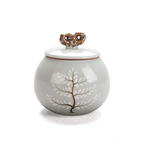 llddrz Urna para mascotas Urna de mascotas | Urnas de cerámica para cenizas de mascotas | Urna de cremación | Urna de gato | Urna de perro pequeño |