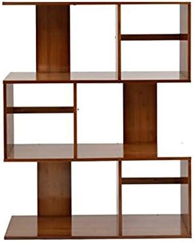 Bücherregale Bambus 2 3 4 5 Stufen Stand Blaume Anzeige Pflanze Leiter Multifunktions Lager Gestell CJC (Größe   80  24.5  102cm)