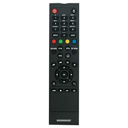 NiceTQ Replacement Remote Control Controller for Philips Blu-ray Disc DVD Player BDP2285/F7 BDP2305/F7 BDP2205/F7 BDP2385