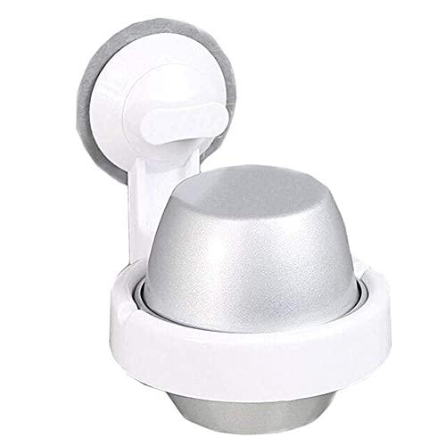 LAMZH Cenicero de Vidrio pequeño, cenicero doméstico, cenicero de Aluminio de Estilo Europeo, Dormitorio de Cama de baño Ascenso Ascenso de Pared con Tapa para Hombres Mujer decoración A