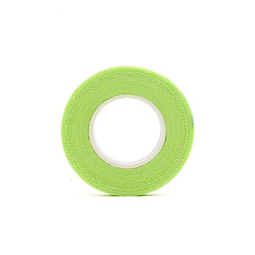 GUOJIAYI 3pcs Eyelash Isolation with Holes, Breathable and Comfortable Green Eye Pad