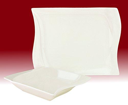 Tafelservice 12teilig weiß
