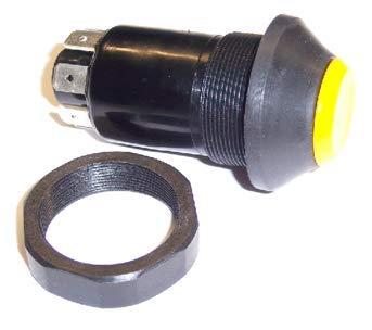 """Druckschalter ohne Arretierung Taster: """"Vibration"""" Artikel-Nr.: KM 10 04 0055 JCB/VIBROMAX-Nr.: 08102/02218 Befestigungsmutter SW 36 (ist im Lieferumfang enthalten)"""