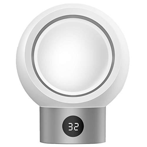 Serria® Mini tragbarer handlicher Raumheizungs Ventilator elektrischer Büro Winter Wärmer Temperatur einstellbar PTC-Heizplatte mit hohem Wirkungsgrad kleine Heizungen 18 × 14,5 × 8,5 cm