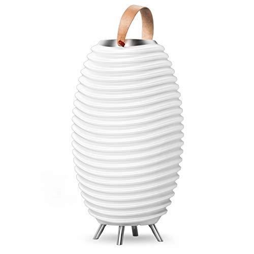 Synergy 65S – 3-in1 LED-Lampe Bluetooth-Lautsprecher & Weinkühler – LED-Licht, Musik-Streaming und Wein-, Champagner oder Bier kühlen