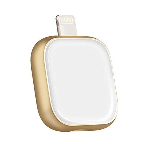Preisvergleich Produktbild SU Flash-Laufwerk 16 / 32 / 64 / 128 GB Speicherstick USB2.0 Für iPhone Handy U Festplatte Fingerabdruck-Verschlüsselung Externen Speicher, White, 128G