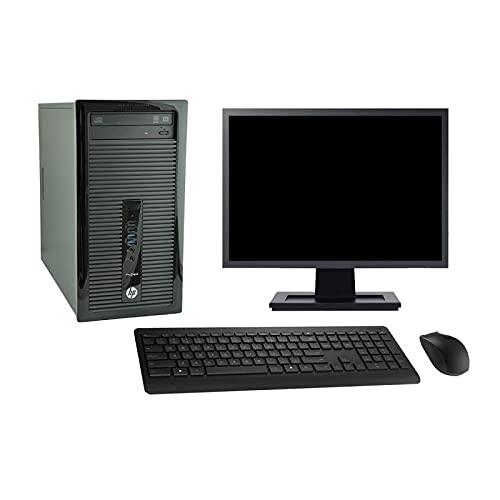HP Torre 400 G1 - Ordenador de sobremesa (19 pulgadas, Intel i7-4790 RAM 16 GB SSD 120 GB, Windows 10 WiFi (reacondicionado)