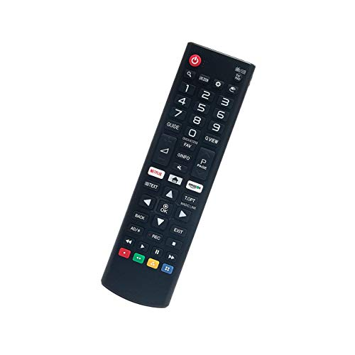 Rssotue AKB75095303 Replaced Remote fit for LG TV 65UJ655V-ZC 65UJ670V-ZD 65UJ675V-ZC 65UJ701V-ZC 65UJ634V-ZD 65UJ635V-ZF