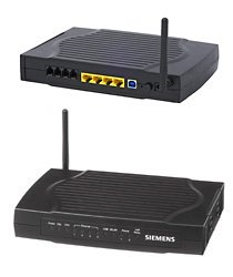 Siemens IAD SLI-5300 W-LAN Router, ADSL2+ Modem, VoIP
