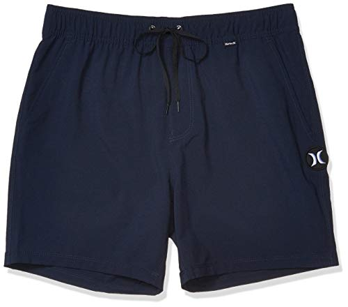 Hurley Men's One and Only Board Shorts, Obsidian, 38