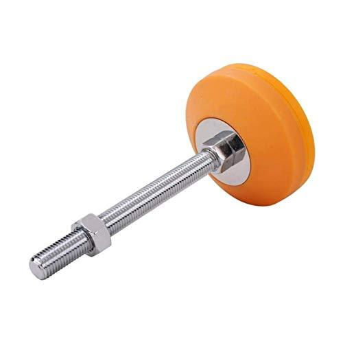 JXJ Ruedas para Muebles Copa de pie mecánica Diámetro de la Base de 100 mm Tipo L Base de Nylon Antideslizante PA6 para Equipos industriales Durable (Color: Tipo H)