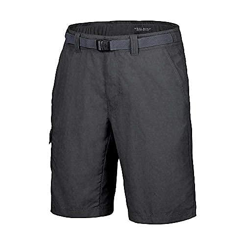 Columbia Cascades Explorer Pantalon de randonnée Convertible Homme, Grill, W28/L34