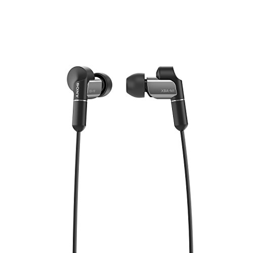 Sony XBA-N1AP Premium High-Res Audio In-Ear Headphones with Dynamic Drivers - Black