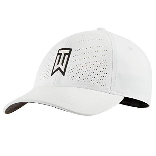 Nike TW Tiger Woods AeroBill Heritage 86 Hat BV1072 (M/L, White)
