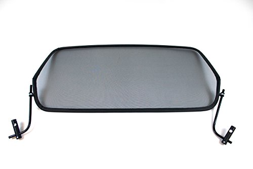 GermanTuningParts Windschott für Citroën C3 Pluriel (2003-2010) - Schwarz | Windabweiser | Windblocker | Wind deflector