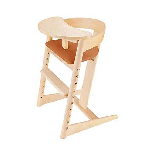 Great Deal! LZCYN Home Child Baby Chair Multifunctional Dining Highchair Solid Wood Child Baby Feedi...