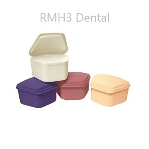 Defend Denture Box Asst Colors 12/pk