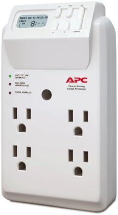 APC 4 Outlets Multi Plug Timer Surge Protector